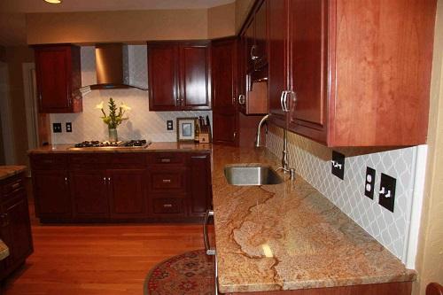 The Basics Of Kitchen Countertops Easy As 1 2 3 The Granite Guy Granite Countertop In