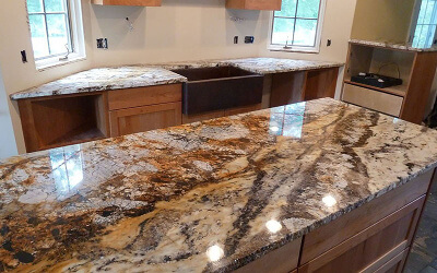 granite countertop in columbus worthington ohio the. Black Bedroom Furniture Sets. Home Design Ideas