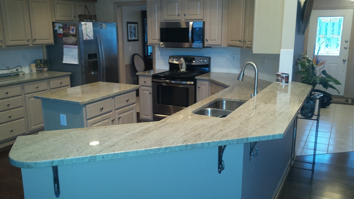 Completed Kitchen Countertops | The Granite Guy, Worthington ...