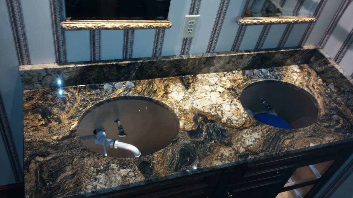 Bathroom Sinks Columbus Ohio completed projects | the granite guy | granite countertop in