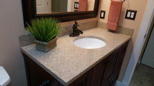 Bathroom Counters: A Few Differences from Your Kitchen Counters