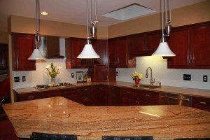 granite kitchen countertops, Dublin, OH