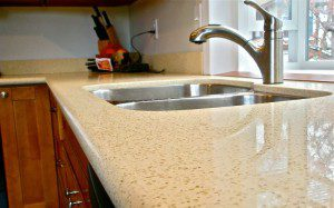 Quartz countertop in Worthington