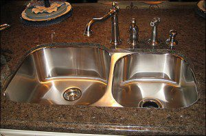 choosing a sink for your granite kitchen countertops