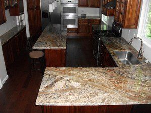 kitchen granite countertops, Dublin, OH
