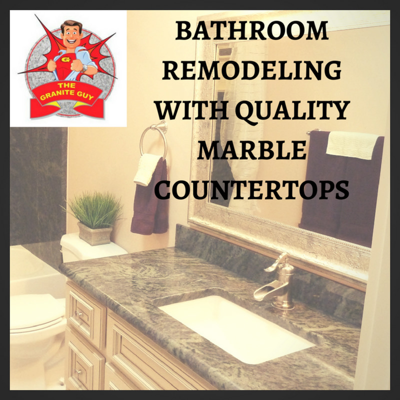 Bathroom Remodeling with Quality Marble Countertops